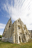 Abadia de St-Jean-DES Vignes em Soissons Fotografia de Stock