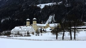 Abadia de Stams, Tirol, Áustria imagem de stock royalty free