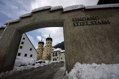Abadia de Stams, Tirol, Áustria fotos de stock royalty free