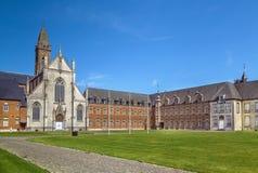 Abadia de Tongerlo, Bélgica imagens de stock