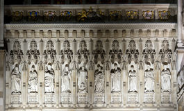 Abadia de Westminster, Londres Foto de Stock