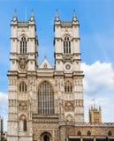 Abadia de Westminster, Londres, Inglaterra, entrada dianteira Imagem de Stock