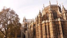 Abadia de Westminster Londres, local de encontro para o casamento real. Foto de Stock