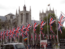 Abadia de Westminster real do casamento Imagens de Stock Royalty Free