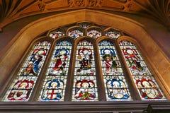 A abadia do banho em Inglaterra Fotos de Stock Royalty Free