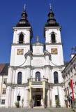 Abadia do nster do ¼ de KremsmÃ, Upper Austria foto de stock
