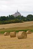 A abadia do Saint-Michel da montagem foto de stock royalty free