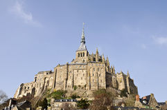 Abadia do Saint Michel de Mont Imagem de Stock Royalty Free
