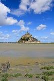 Abadia do Saint Michel de Mont Imagem de Stock Royalty Free