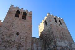 A abadia do Saint-Vencedor de Marselha Fotografia de Stock Royalty Free