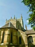 Abadia em worcestershire fotografia de stock