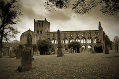 Abadia histórica Scotland de Jedburgh Imagens de Stock