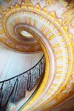 Abadia imperial de Melk das escadas, Áustria Imagens de Stock