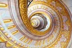 Abadia imperial de Melk das escadas, Áustria Imagens de Stock Royalty Free