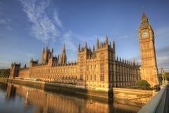 Abadia Londres de Ben grande e de Westminister Imagem de Stock