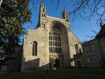 Abadia Reino Unido Europa de Tewkesbury dos arcos Foto de Stock