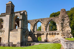 Abadia Somerset de Glastonbury Foto de Stock Royalty Free