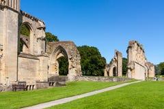 Abadia Somerset de Glastonbury Fotos de Stock Royalty Free
