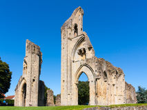 Abadia Somerset de Glastonbury Fotografia de Stock Royalty Free