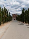 Abadia Toscânia de San Galgano, Italy Fotografia de Stock Royalty Free