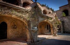 Abadia velha Fotografia de Stock
