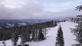 Abaissement d'une montagne Zahar Berkut Image stock