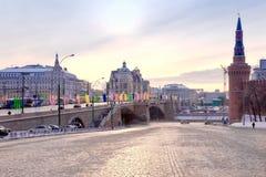 Abaissement de Vassilievski de zone Images libres de droits