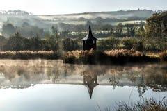 Abaissez Bruckland - Devon Photo stock