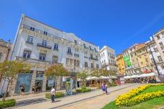 Abaissez Coimbra Portugal Images libres de droits