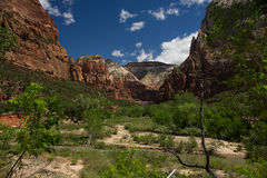 Abaissez Emerald Pool Trail C Images stock