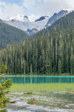 Abaissez Joffre Lake et le glacier de Matier Photos libres de droits