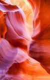 Abaissez l'abrégé sur canyon d'antilope Photo libre de droits