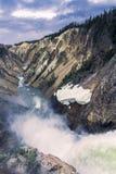 Abaissez l'automne et la rivière vus de l'artiste Point, Grand Canyon à Y Photos libres de droits