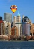 abaissez l'horizon de Manhattan Image stock