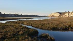 Abaissez la baie de Newport Images libres de droits