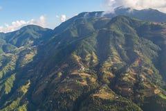 Abaissez la gamme de l'Himalaya Photos stock
