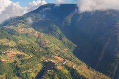 Abaissez la gamme de l'Himalaya Images libres de droits