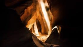 Abaissez la gorge Arizona d'antilope Images stock