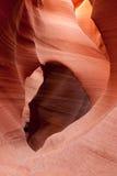 Abaissez la gorge d'antilope Image libre de droits