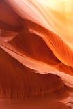 Abaissez la gorge d'antilope Photo stock