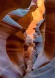 Abaissez la gorge d'antilope Photo libre de droits