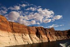 Abaissez la gorge d'antilope en page Arizona. Image stock