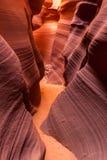 Abaissez la gorge d'antilope, page, Arizona Image stock