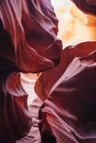 Abaissez la gorge d'antilope, page, Arizona Photographie stock libre de droits