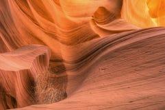 Abaissez la gorge de fente d'antilope Photo libre de droits