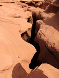 Abaissez la gorge de fente d'antilope Photos libres de droits
