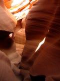 Abaissez la gorge de fente d'antilope Photos stock