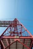 Abaissez la vue du pont de Biscay Photos libres de droits