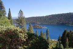 Abaissez Lake Tahoe Image libre de droits