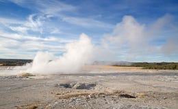 Abaissez le bassin de geyser Image stock